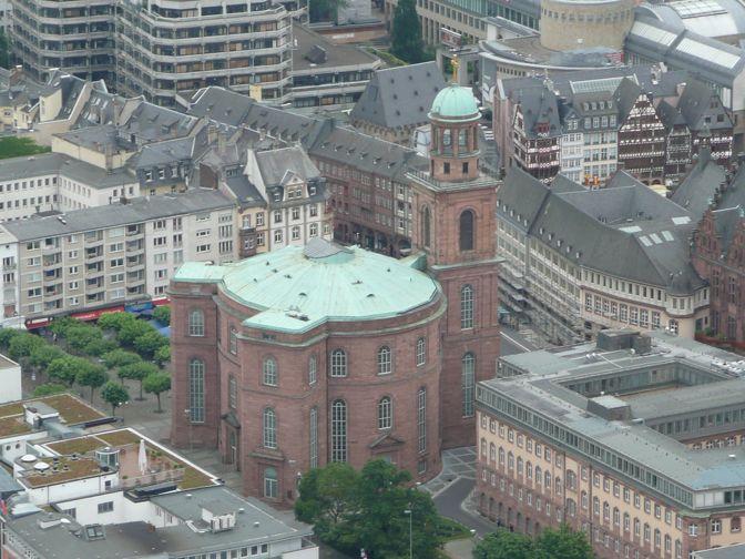 guía de Frankfurt - Paulskirche