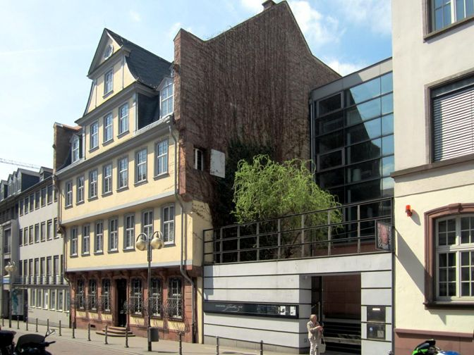 guía de Frankfurt - Casa de Goethe