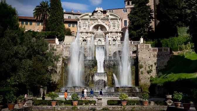 Villa de este tivoli roma horario precio de entradas for Jardin villa d este