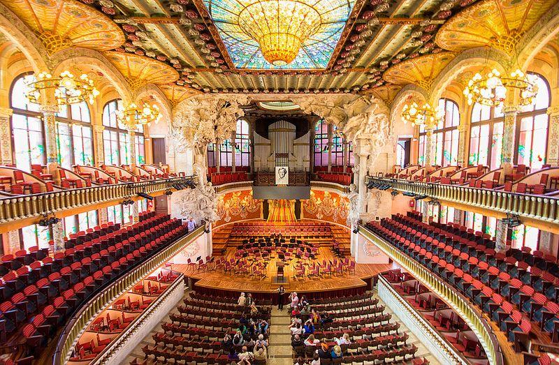 Palau de la Música Catalana - La Guía de Viaje