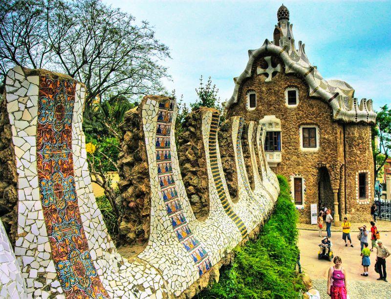 Parque g ell de barcelona la gu a de viaje for Parques de barcelona