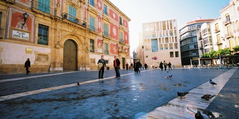 Plaza del cardenal Belluga, Murcia