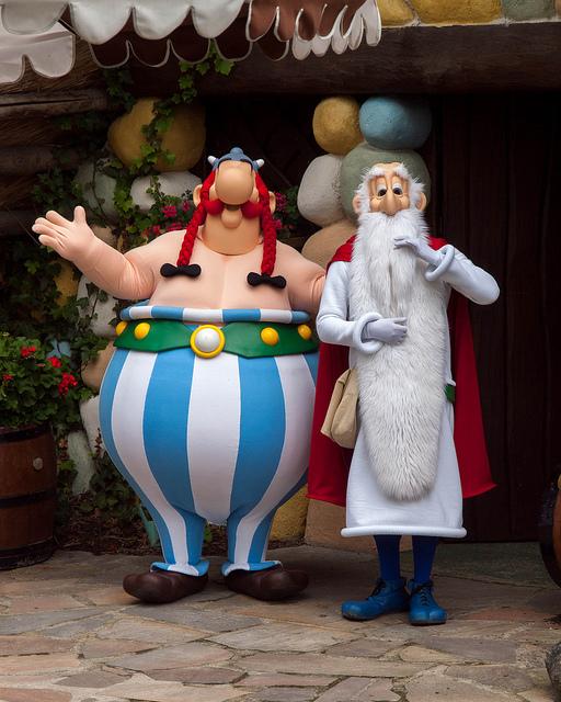 Parque de atracciones de Astérix y Obelix