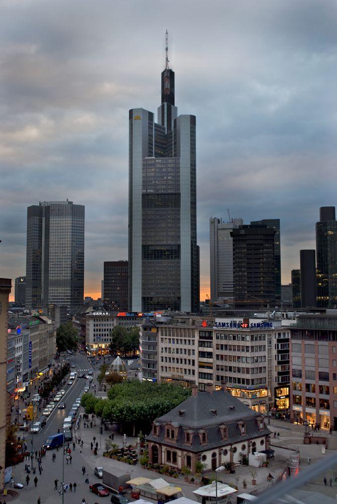 guía de Frankfurt - Torre Commerzbank