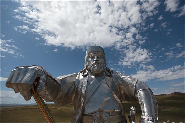 Estatua ecuestre de Genghis Khan