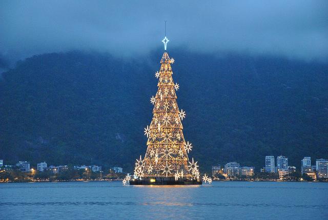 Arbol de navidad Rio de janeiro 2