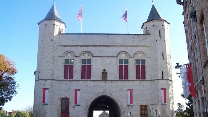 Fortificaciones y molinos de Brujas - Gentpoort