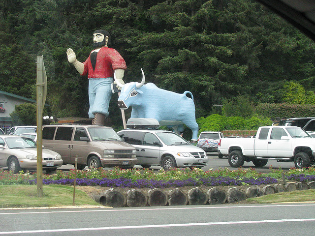 Estatua de Paul Bunyan 1