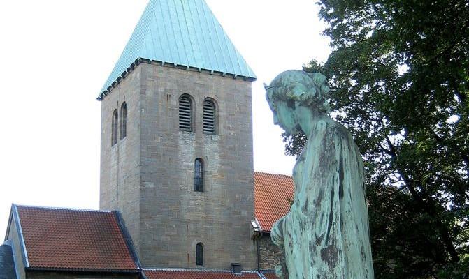 Iglesia de Gamle Aker en Oslo