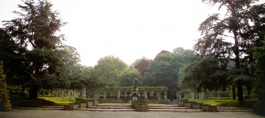 Citadelpark - Parque de la ciudadela - Gante