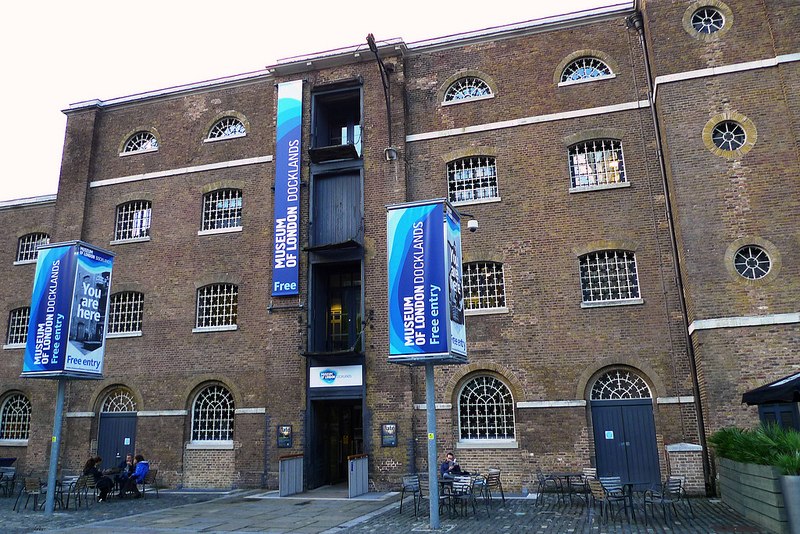 Museo Portuario de Londres | Museum of London Docklands