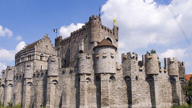 Castillo de los Condes de Flandes | Het Gravensteen | Gante