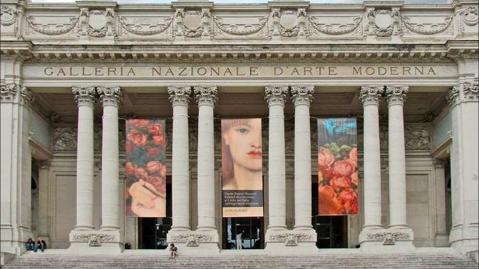 Galería Nacional de Arte Moderno (GNAM) | Roma