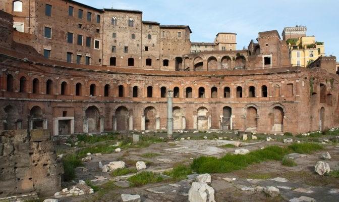 Mercado de Trajano y Museo de los Foros Imperiales | Roma