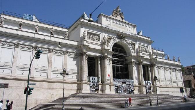 Palazzo delle Esposizioni - Palacio de Exposiciones - Roma