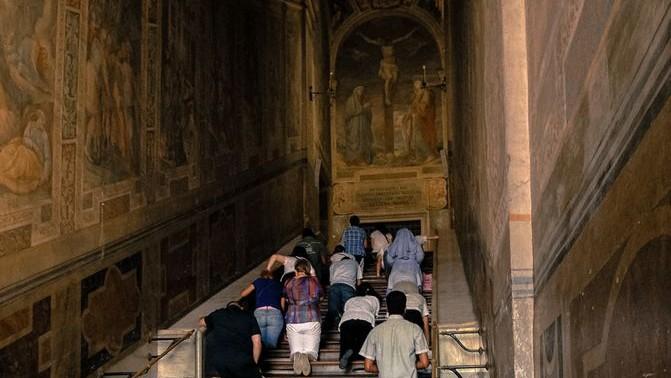 Scala Santa y Sancta Sanctorum