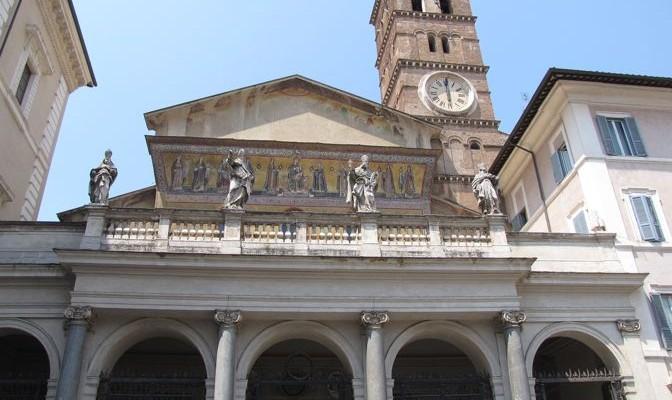 Basílica de Santa María en Trastévere