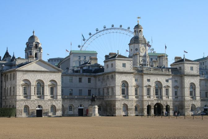 Horse Guards Parade, Cavalry Museum y cambio de guardia a caballo