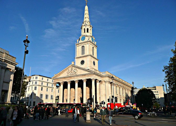 Iglesia de St Martin in the Fields
