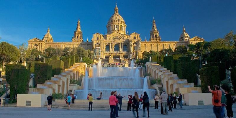 El MNAC o Museo Nacional de Arte de Cataluña