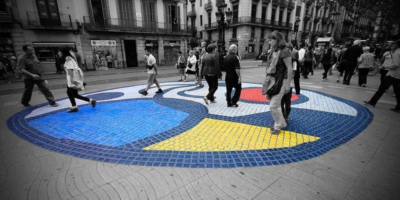 Las Ramblas de Barcelona - Miró