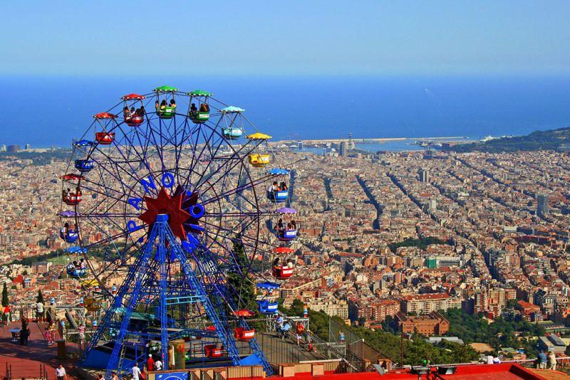 Parque de atracciones del tibidabo horario y precio for Parques de barcelona
