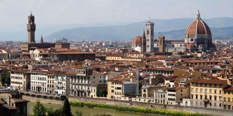 Piazzale Michelangelo en Florencia
