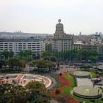 Plaza de Cataluña en Barcelona