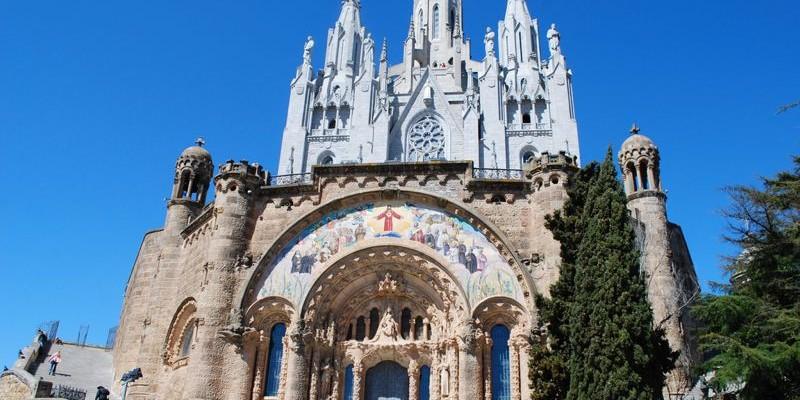 Templo Expiatorio del Sagrado Corazón en Barcelona