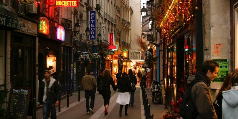 Barrio Latino en París