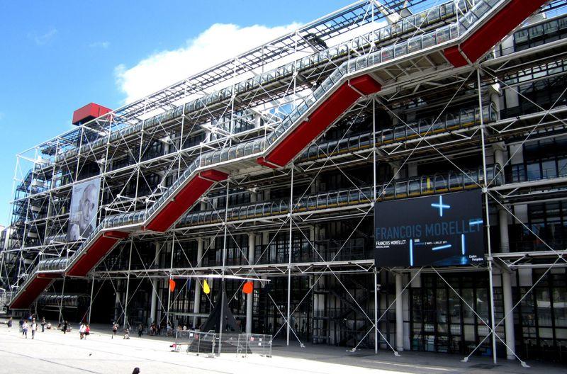 Centro pompidou par s for High tech arquitectura