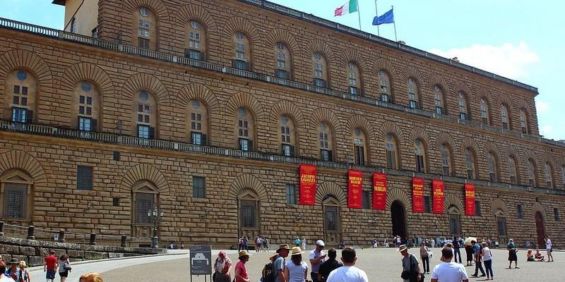 Galería Palatina, Florencia