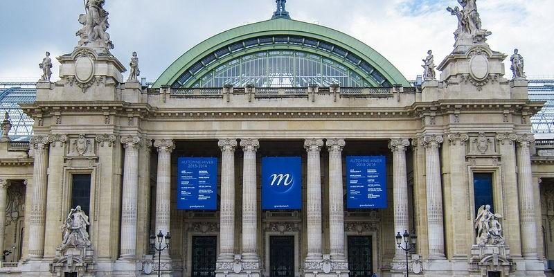 Grand Palais en París