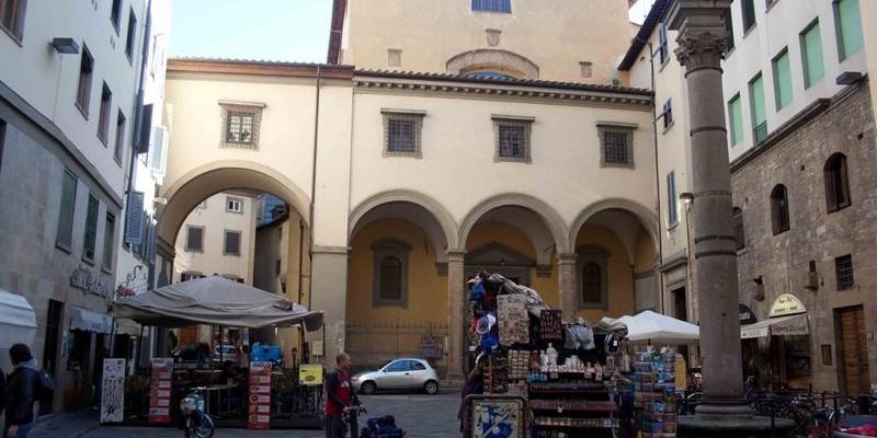 Iglesia de Santa Felicitá- Florencia