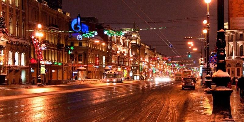 La avenida Nevsky de San Petersburgo
