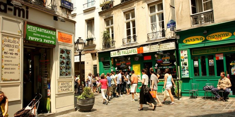 Le Marais, París