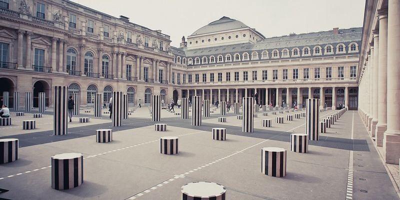Palais Royal en París