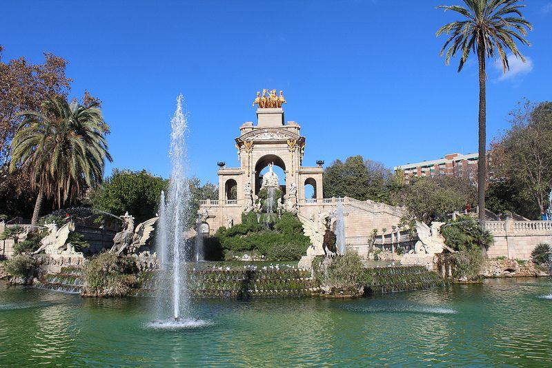 Parque de la ciudadela barcelona for Parques de barcelona