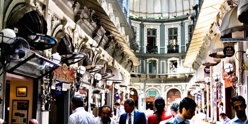 Çiçek Pasaji y otros mercados, Estambul