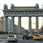 La Avenida de Moscú en San Petersburgo