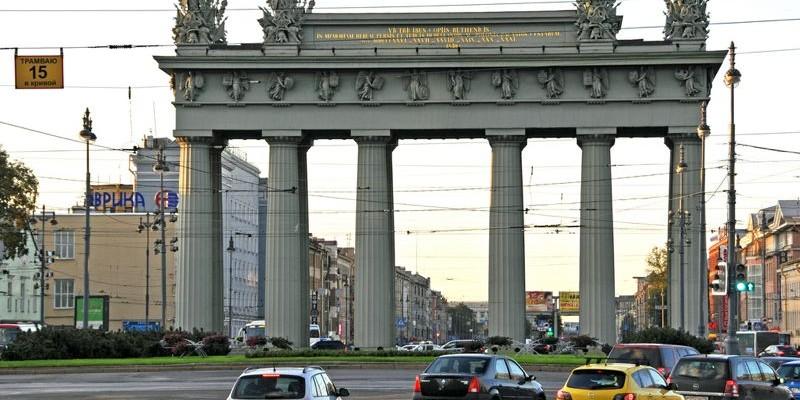 Avenida de Moscú en San Petersburgo