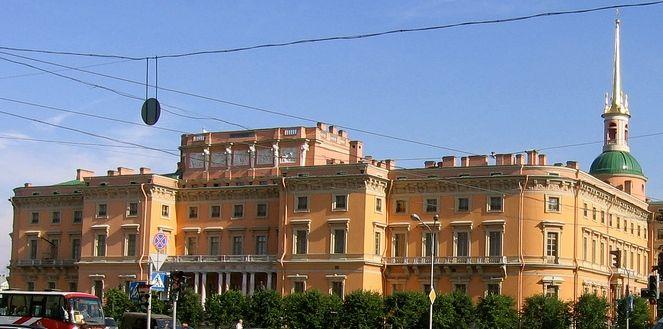 Castillo Mijáilovski, San Petersburgo
