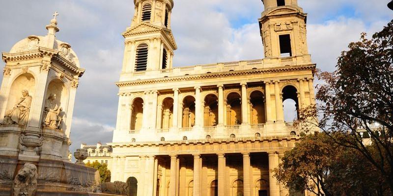 Eglise de Saint Sulpice, París