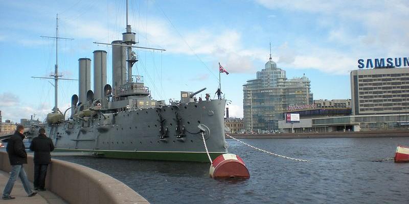 El Acorazado Aurora, San Petersburgo