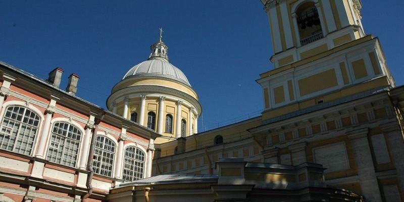 El monasterio de Alejandro Nevski, San Petersburgo