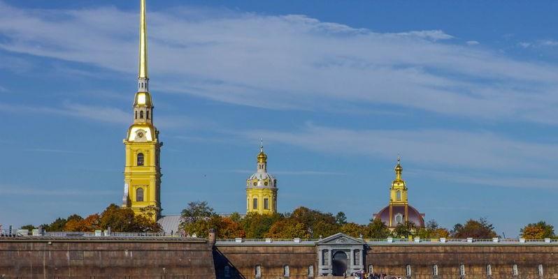 Fortaleza de San Pedro y San Pablo, San Petersburgo