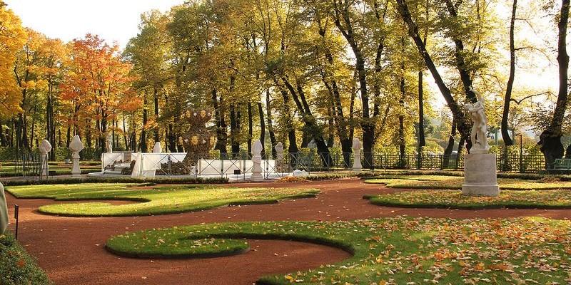 Jardín de Verano, San Petersburgo