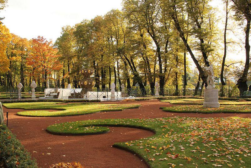 El jard n de verano san petersburgo for El jardin de vikera