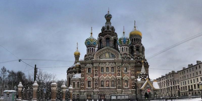 La Iglesia del Salvador sobre la sangre derramada, San Petersburgo