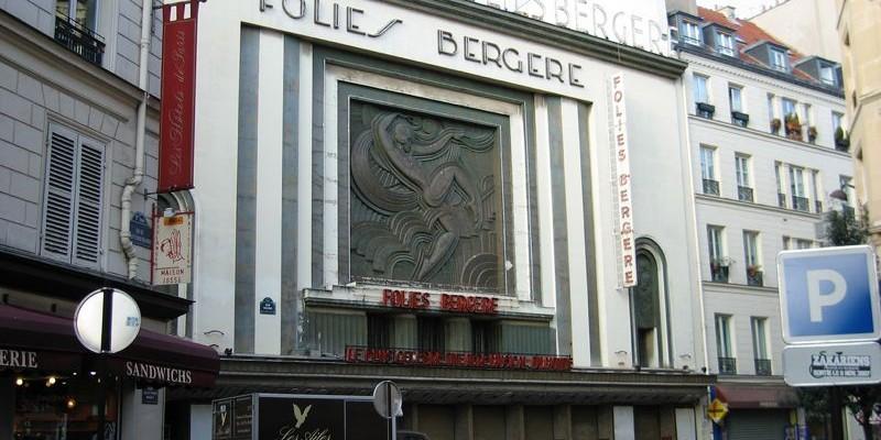 La zona de Grands Boulevars, París